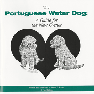 Book cover - The Portuguese Water Dog Puppy